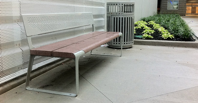 This is the Sync Bench with Back by Animavi.